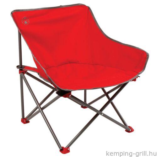 Kick-Back kemping szék piros